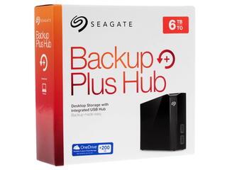 "3.5"" Внешний HDD Seagate 6TB Backup Plus Hub"