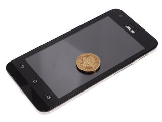 "4.5"" Смартфон ASUS ZenFone C ZC451CG 8 Гб белый"