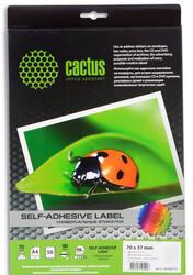 Самоклеящиеся этикетки Cactus С-30700370
