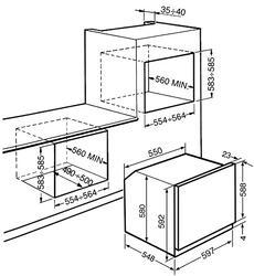 Электрический духовой шкаф Smeg SF122TNE