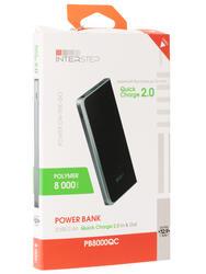 Портативный аккумулятор InterStep PB8000QCB черный