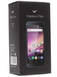 """4.5"""" Смартфон Vertex Impress U Too 8 Гб черный"""