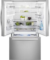 Холодильник с морозильником Electrolux EN6084JOX серебристый