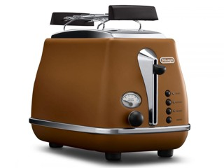 Тостер DeLonghi CTOV2103.BW коричневый