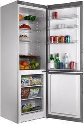 Холодильник с морозильником Sharp SJ-B132ZRSL серебристый