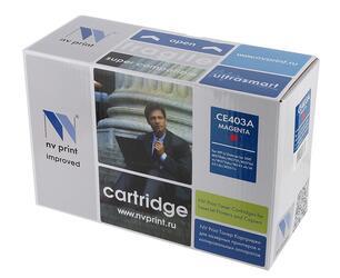 Картридж лазерный NV Print CE403A