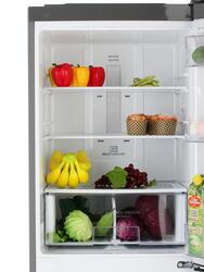 Холодильник с морозильником LG GA-B379SMQL серебристый