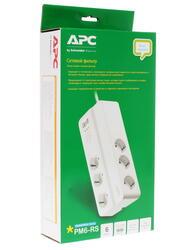 Сетевой фильтр APC Essential SurgeArrest PM6-RS белый