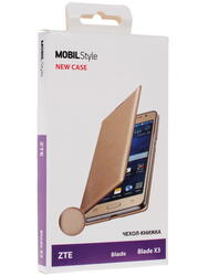 Чехол-книжка  NEW CASE для смартфона ZTE blade X3