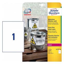 Самоклеящиеся этикетки Avery Zweckform L4775-20