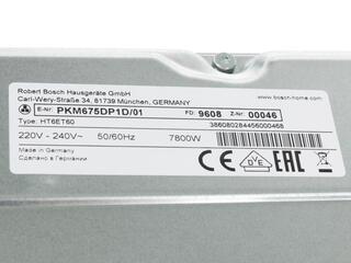 Электрическая варочная поверхность BOSCH PKM675DP1D