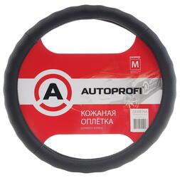 Оплетка на руль AUTOPROFI AP-396 черный