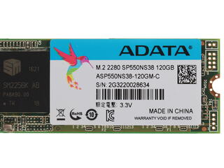 120 ГБ SSD M.2 накопитель AData Premier SP550 [ASP550NS38-120GM-C]