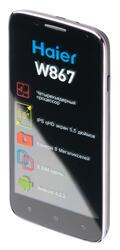 "5.5"" Смартфон Haier W867 4 ГБ черный"