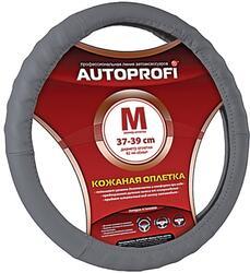 Оплетка на руль AUTOPROFI AP-300 серый