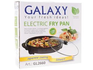 Электросковорода Galaxy GL 2660 черный, серый