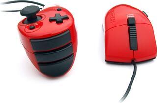 Игровой контроллер Splitfish Frag FX Piranha красный