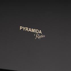 Вытяжка каминная Pyramida KH 60 WOOD BLACK черный