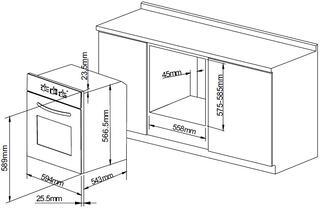 Электрический духовой шкаф Pyramida F 64 ER IVORY RUSTICO