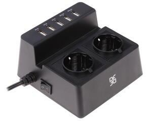 Сетевой фильтр DF PORT-CHARGER-03 черный