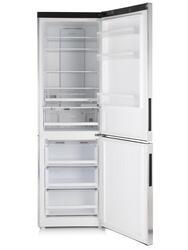 Холодильник с морозильником Haier C2FE636CTJRU серебристый