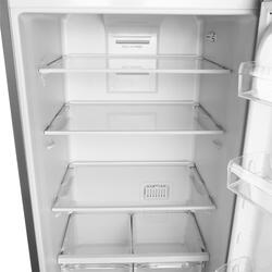 Холодильник с морозильником INDESIT DF 5180 S серебристый