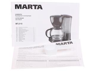 Кофеварка Marta MT-2110 красный