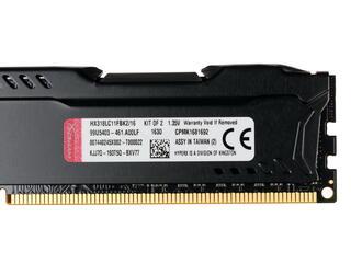 Оперативная память Kingston HyperX FURY Black [HX318LC11FBK2/16] 16 ГБ