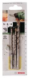 Набор буров Bosch SDS-Quick 2609256908