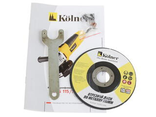 Углошлифовальная машина Kolner KAG 115/500М