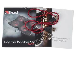 Подставка для ноутбука Trust GXT 278 черный