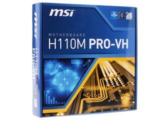 Материнская плата MSI H110M PRO-VH