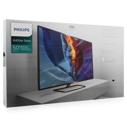 "50"" (127 см)  LED-телевизор Philips 50PUT6400 черный"