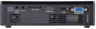 Проектор ViewSonic PLED-W800 черный
