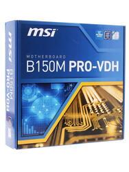 Материнская плата MSI B150M PRO-VDH