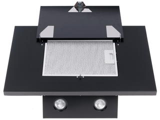 Вытяжка каминная LEX MINI 600 Black черный