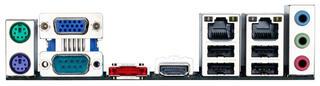 Плата Gigabyte GA-C1007UN (Celeron 1007U 1.5 GHz) 2xDDR3-1600 HDMI/DSub 2xSATA 1xSATA3 eSATA IDE COM 2xGLAN mini-ITX