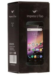 """4.5"""" Смартфон Vertex Impress U Too 4 Гб черный"""