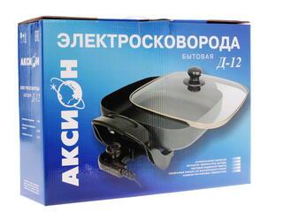 Электросковорода Аксион Д-12 черный
