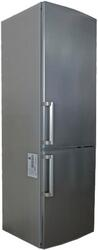 Холодильник с морозильником Sharp SJ-B236ZRSL серебристый