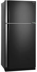 Холодильник с морозильником Sharp SJ-XE55PMBK черный