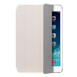 Чехол-подставка Ultra Cover leather и защитная пленка для Apple iPad mini with Retina display, белый,  Deppa