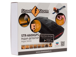 Радар-детектор Street Storm STR-6600GPS