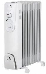 Масляный радиатор Korting KOH520H-LG белый