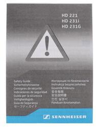 Наушники Sennheiser HD 231 G