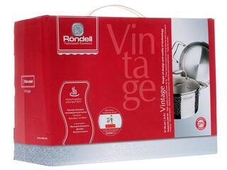 Кастрюля Rondell Vintage RDS-342 серебристый