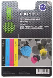 Набор картриджей Cactus CS-R-EPT0735