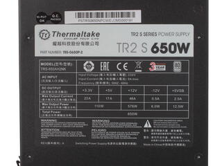 Блок питания Thermaltake TR2 S 650W [TRS-0650P-2]