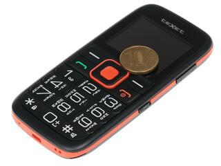 Сотовый телефон Texet ТМ-117 черный