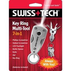 Многофункциональный инструмент Swiss+Tech Key Ring Multi-Tool
